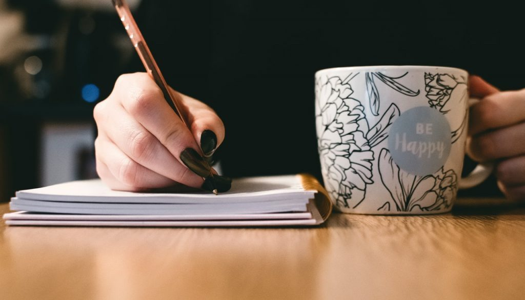 writing and mindfulness